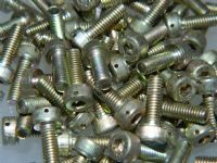 10 x M4 Cap Headed Socket Screw Cadmium Plated Steel 12mm Long [Z1]